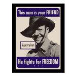 Australiano de WWII Postal