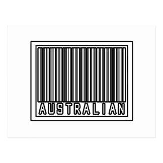Australiano del código de barras postal