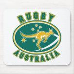 australiano del wallaby del canguro de Australia d Tapetes De Raton