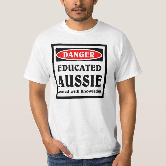 Australiano educado playera