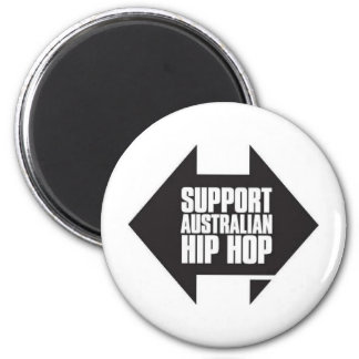 Australiano Hip Hop de la ayuda Imán Redondo 5 Cm