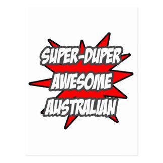 Australiano impresionante estupendo de Duper Postal