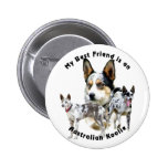 Australiano Koolie Merle del mejor amigo Pins