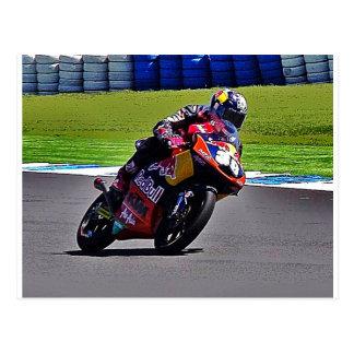Australiano Moto Grand Prix Tarjeta Postal