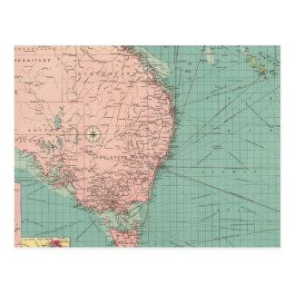 Australiano, puertos de Nueva Zelanda Postal