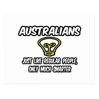 Australianos… más elegantes postal