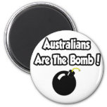 Australians Are The Bomb! Refrigerator Magnets