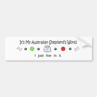 AustralianShepherd Bumper Stickers