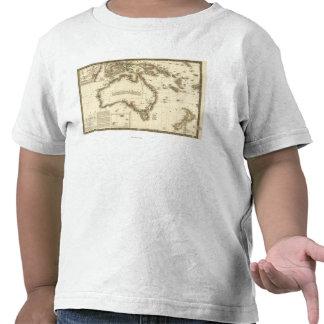AustraliaPanoramic MapAustralia 2 Camisetas