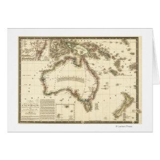 AustraliaPanoramic MapAustralia 2 Tarjeta