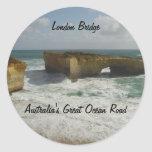 Australia's London Bridge Classic Round Sticker