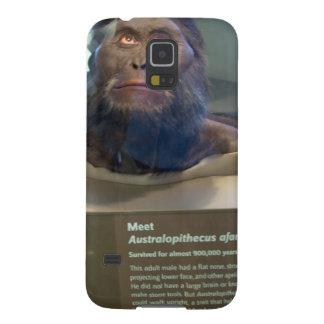 Australopithecus afarensis; museum exhibit. case for galaxy s5