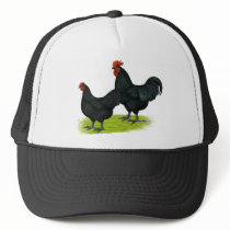 Australorp Black Chickens Trucker Hat