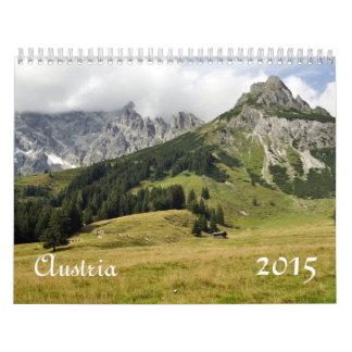 Austria, 2015 calendar