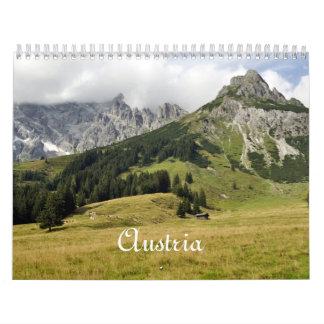 Austria, 2016 calendar