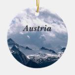 Austria Adorno Navideño Redondo De Cerámica