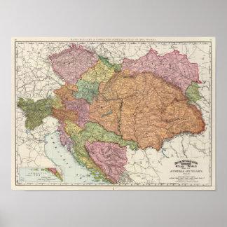 Austria and Hungary 2 Print