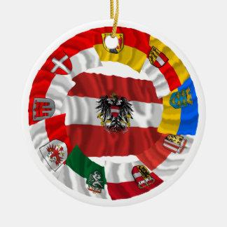 Austria and its Länder Christmas Tree Ornaments