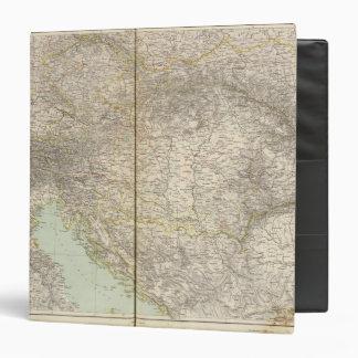 Austria Atlas Map 3 Ring Binders