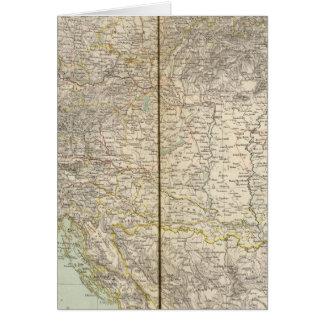 Austria Atlas Map Cards