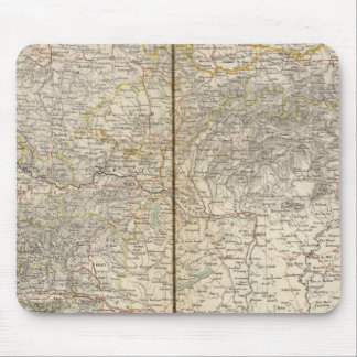 Austria Atlas Map Mousepad