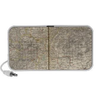 Austria Atlas Map Notebook Speakers