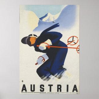 Austria - Austrian Vintage Travel Poster