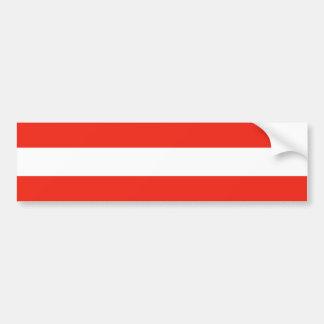 Austria - bandera/Österreich - Flagge Pegatina Para Auto