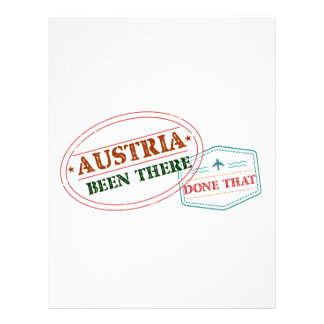 Austria Been There Done That Letterhead