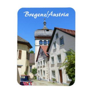 Austria, Bregenz Old Town Souvenir Magnet