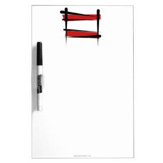 Austria Brush Flag Dry Erase White Board