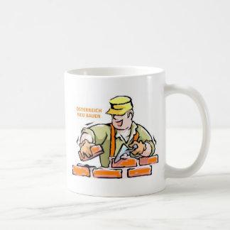Austria build again coffee mug