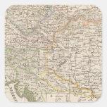 Austria Calcomania Cuadrada Personalizada
