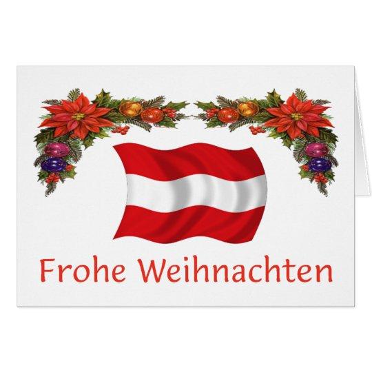 Austria Christmas Card