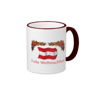 Austria Christmas Ringer Mug