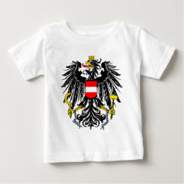 Austria coat of arms baby T-Shirt