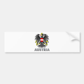 Austria Coat of Arms Bumper Sticker