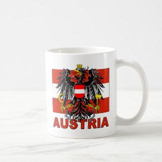 Austria Coat of Arms Classic White Coffee Mug