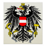 Austria Coat of Arms detail Poster