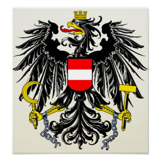 Austria Coat of Arms detail Posters