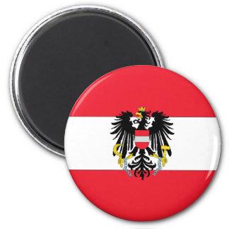 Austria Coat of Arms 2 Inch Round Magnet