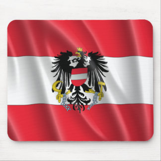 AUSTRIA COAT OF ARMS MOUSE PAD