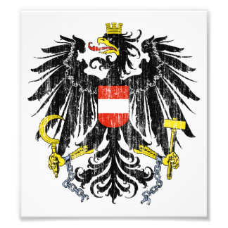 Austria Coat Of Arms Photo Print