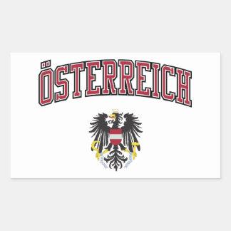 Austria + Coat of Arms Stickers