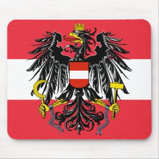 austria emblem mouse pad