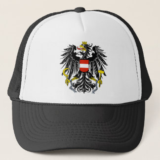 austria emblem trucker hat