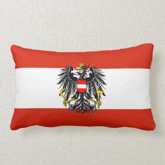 Austria Flag American MoJo Pillow