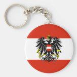 Austria Flag Keychain