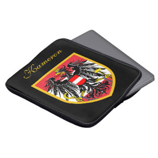 Austria Flag Laptop Computer Sleeves