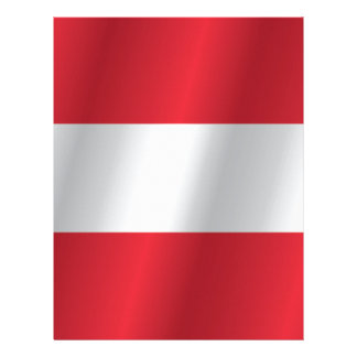 Austria flag letterhead